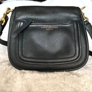 Marc Jacobs Mini Messenger Leather Crossbody Bag